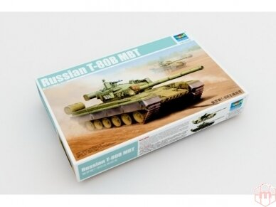 Trumpeter - Russian T-80B MBT, Scale: 1/35, 05565