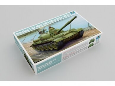 Trumpeter - Russian T-62 Mod.1975, Scale: 1/35, 01552