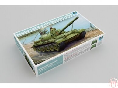 Trumpeter - Russian T-62 Mod.1975, Mastelis: 1/35, 01552