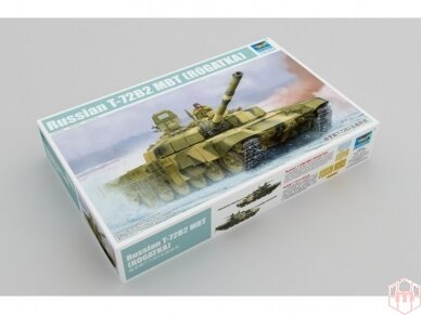 Trumpeter - Russian T-72B2 MBT, 1/35, Mastelis: 1/35, 09507