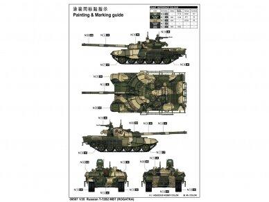 Trumpeter - Russian T-72B2 MBT, 1/35, Mastelis: 1/35, 09507 2