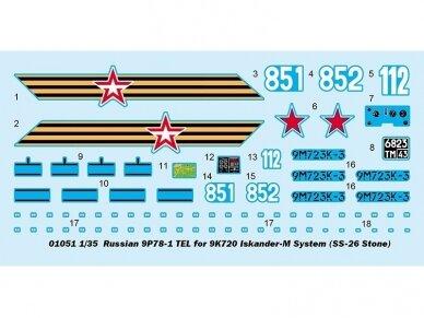 "Trumpeter -  Russian 9K720 ""ISKANDER-M"", Mastelis: 1/35, 01051 2"
