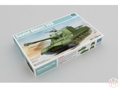 Trumpeter - Soviet Object 268, 1/35, Scale: 1/35, 05544