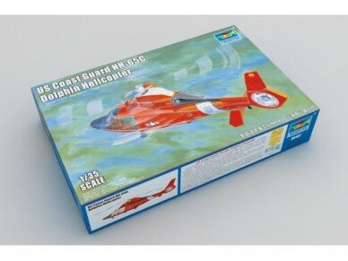 Trumpeter - US Coast Guard HH-65C Dolphin Helicopter, Mastelis: 1/35, 05107 2