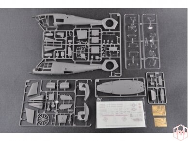 Trumpeter - US Coast Guard HH-65C Dolphin Helicopter, Mastelis: 1/35, 05107 4