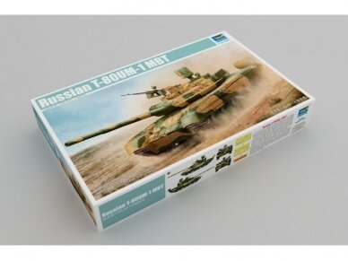 Trumpeter - Russian T-80UM-1 MBT, Scale: 1/35, 09526