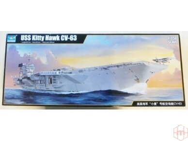 Trumpeter - USS Kitty Hawk CV-63, Mastelis: 1/350, 05619