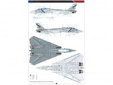 AMK - Grumman F-14D Super Tomcat, 1/48, 88007 25