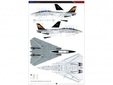 AMK - Grumman F-14D Super Tomcat, 1/48, 88007 26