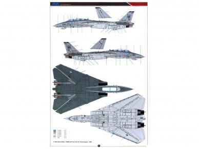 AMK - Grumman F-14D Super Tomcat, 1/48, 88007 28