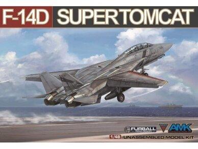 AMK - Grumman F-14D Super Tomcat, 1/48, 88007