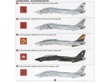 AMK - Grumman F-14D Super Tomcat, 1/48, 88007 23