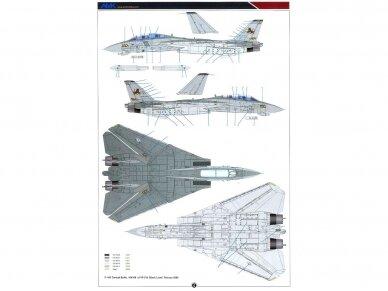 AMK - Grumman F-14D Super Tomcat, 1/48, 88007 24