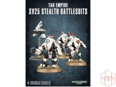Tau Empire XV25 Stealth Battlesuits, 56-14