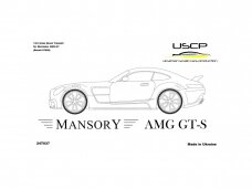 USCP - Mansory AMG GT-S TransKIT, Scale: 1/24, 24T037