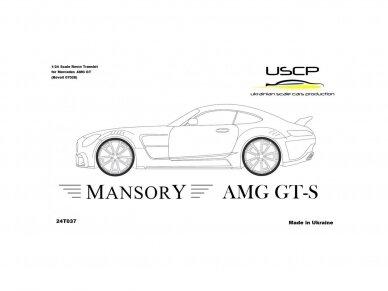 USCP - Mansory AMG GT-S TransKIT, 1/24, 24T037