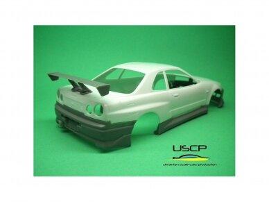 USCP - Nissan Skyline GTR (R34) Fast And Furious 2, 1/24, 24T034 13