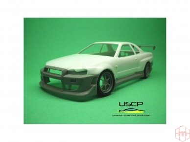 USCP - Nissan Skyline GTR (R34) Fast And Furious 2, 1/24, 24T034 2
