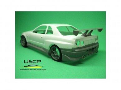 USCP - Nissan Skyline GTR (R34) Fast And Furious 2, 1/24, 24T034 4