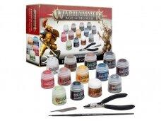 Warhammer Age of Sigmar: Paint + Tools Set, 80-17