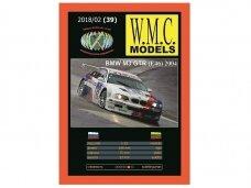 WMC - BMW GTR, Scale: 1/25, 39