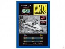 WMC - Ferrari Antares II 3 Laser karkas, Scale: 1/25, 29-1
