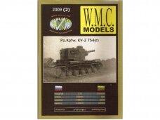 WMC - Pz.Kpfw. KV-2 754(r), Scale: 1/25, 2