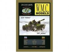 WMC - 2S9 NONA Laser Tracks, Scale: 1/25, 17-1