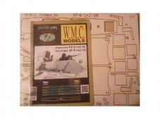WMC - Snowmobile RF-8 GAZ-98 Laser karkas, Scale: 1/25, 34-1