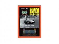 WMC - Maserati 250F Protektorius padangoms, Mastelis: 1/25, 14-1