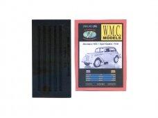 WMC - Moskvich 400 / Opel Kadett 1938 Protektorius padangoms, Mastelis: 1/25, 9-1