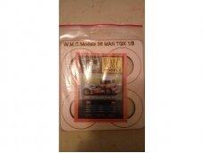WMC - MAN TGX Formula Truck 2013 Laser karkas, 1/25, 36-1