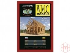 WMC - Wooden House, Scale: 1/50, 40