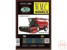 "WMC - Combine harvester ""Palesse GS12"", Scale: 1/25, 46"