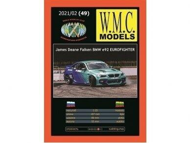 WMC - BMW E92 Eurofighter Protektorius padangoms, 1/25, 49-1