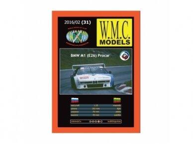 WMC - BMW M1 Procar, Mastelis: 1/25, 31