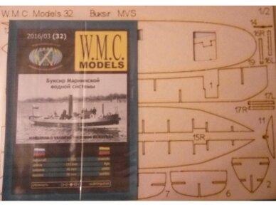 WMC - Buksiras MVS Laser karkas, Mastelis: 1/100, 32-1