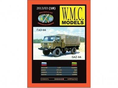 WMC - GAZ - 66, Mastelis: 1/25, 18