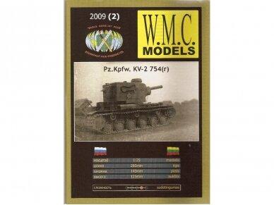 WMC - Pz.Kpfw. KV-2 754(r), Mastelis: 1/25, 2