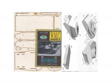 WMC - KE-NI Laser karkas, Mastelis: 1/25, 37-2