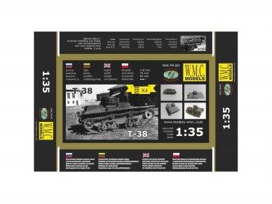 WMC - T-38, Mastelis: 1/35, PK001