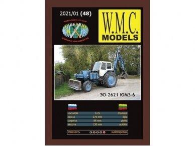 WMC - JuMZ-6 traktorius ekskavatorius, 1/25, 48