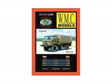WMC - GAZ-66 Protektorius padangoms, Mastelis: 1/25, 18-1