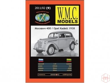WMC - Moskvich 400 / Opel Kadett 1938, Mastelis: 1/25, 9