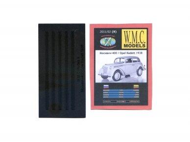 WMC - Moskvich 400 / Opel Kadett 1938 Protektor, Mastelis: 1/25, 9-1