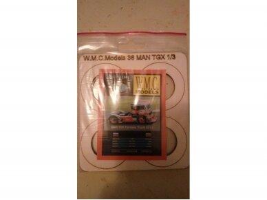 WMC - MAN TGX Formula Truck 2013 Laser karkas, Mastelis: 1/25, 36-1
