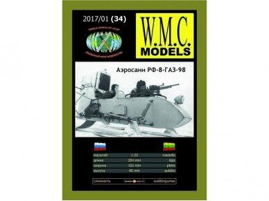 WMC - RF-8-GAZ-98, Scale: 1/25, 34