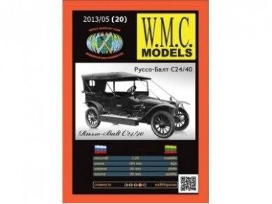 WMC - Russo-Balt C 24/40, Mastelis: 1/25, 20