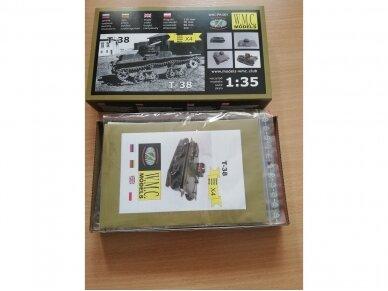 WMC - T-38, Mastelis: 1/35, PK001 3