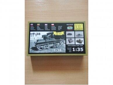 WMC - T-38, Mastelis: 1/35, PK001 2